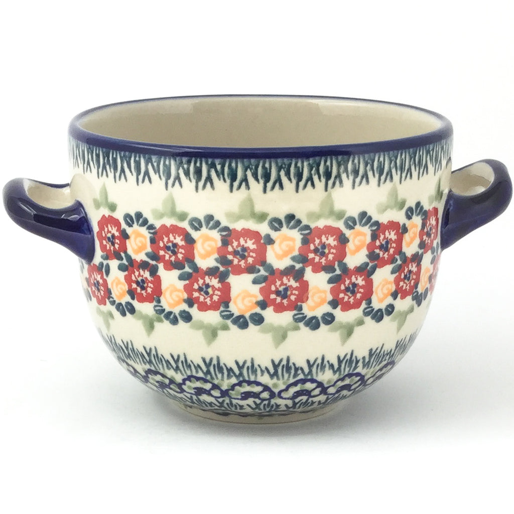 Bouillon Cup 16 oz in Wild Roses
