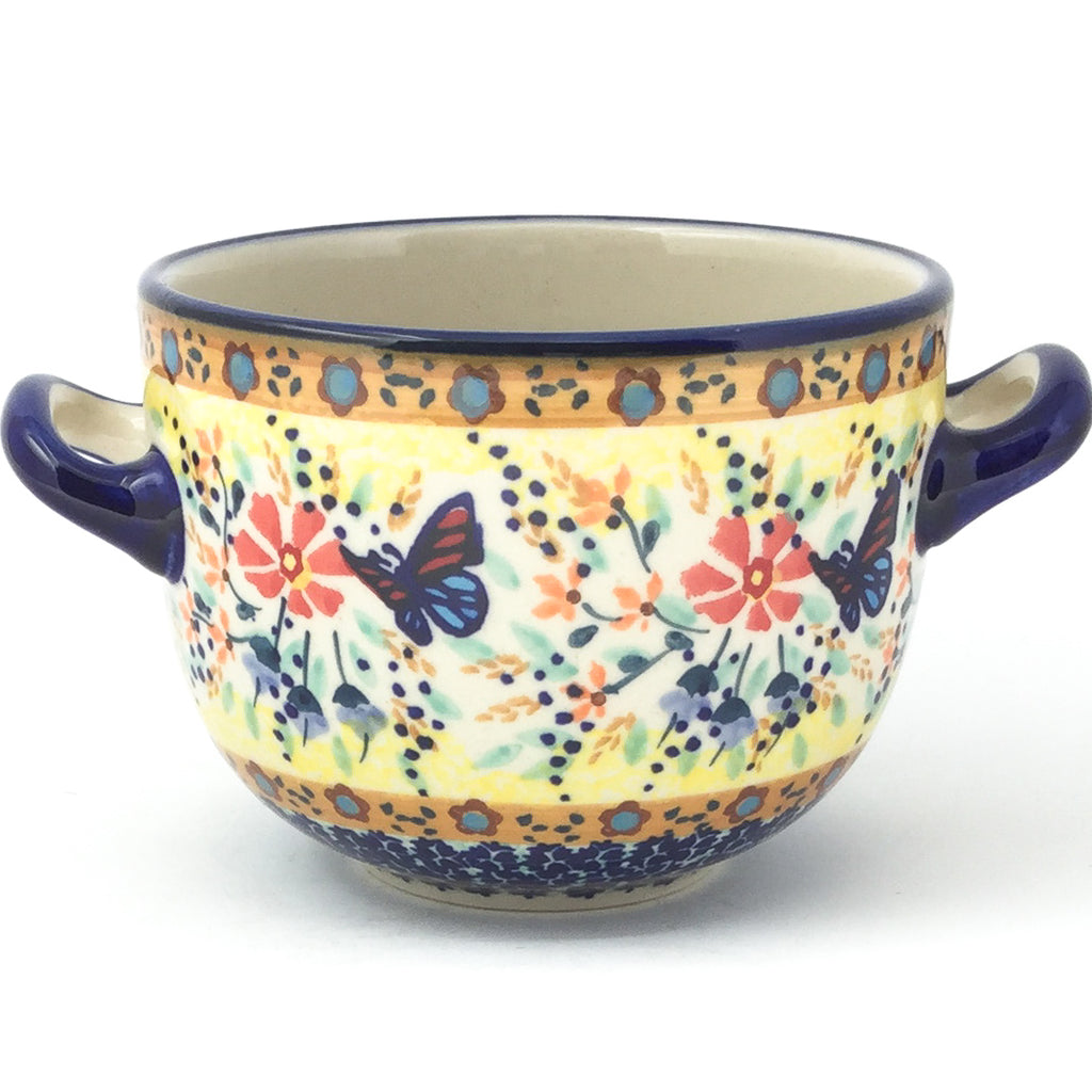Bouillon Cup 16 oz in Butterfly Meadow