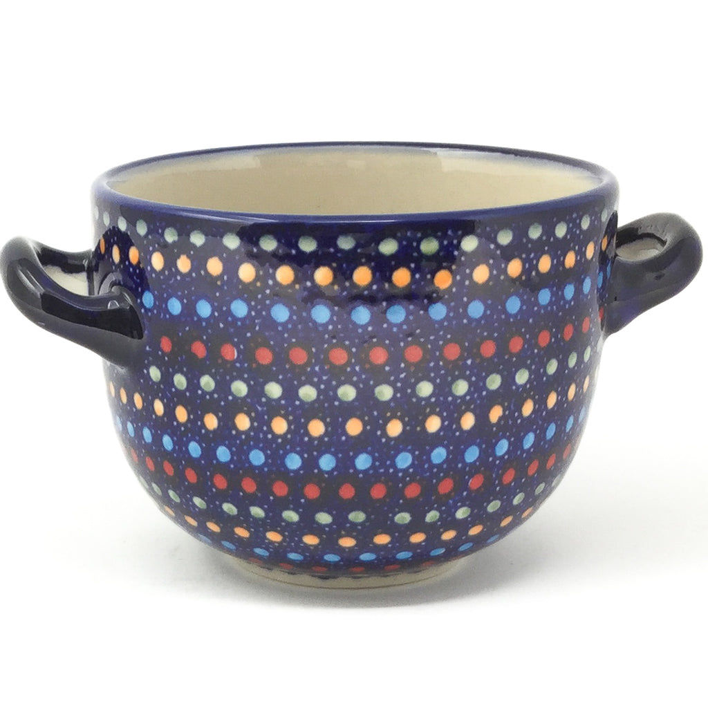 Bouillon Cup 16 oz in Multi-Colored Dots