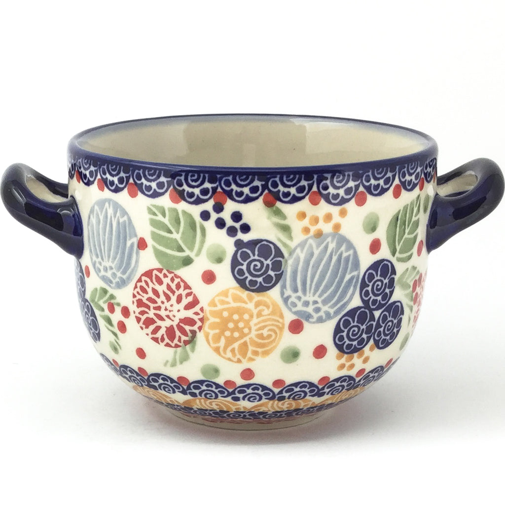 Bouillon Cup 16 oz in Modern Berries