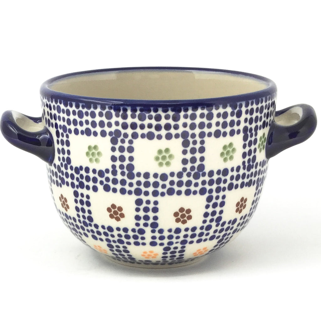 Bouillon Cup 16 oz in Modern Checkers