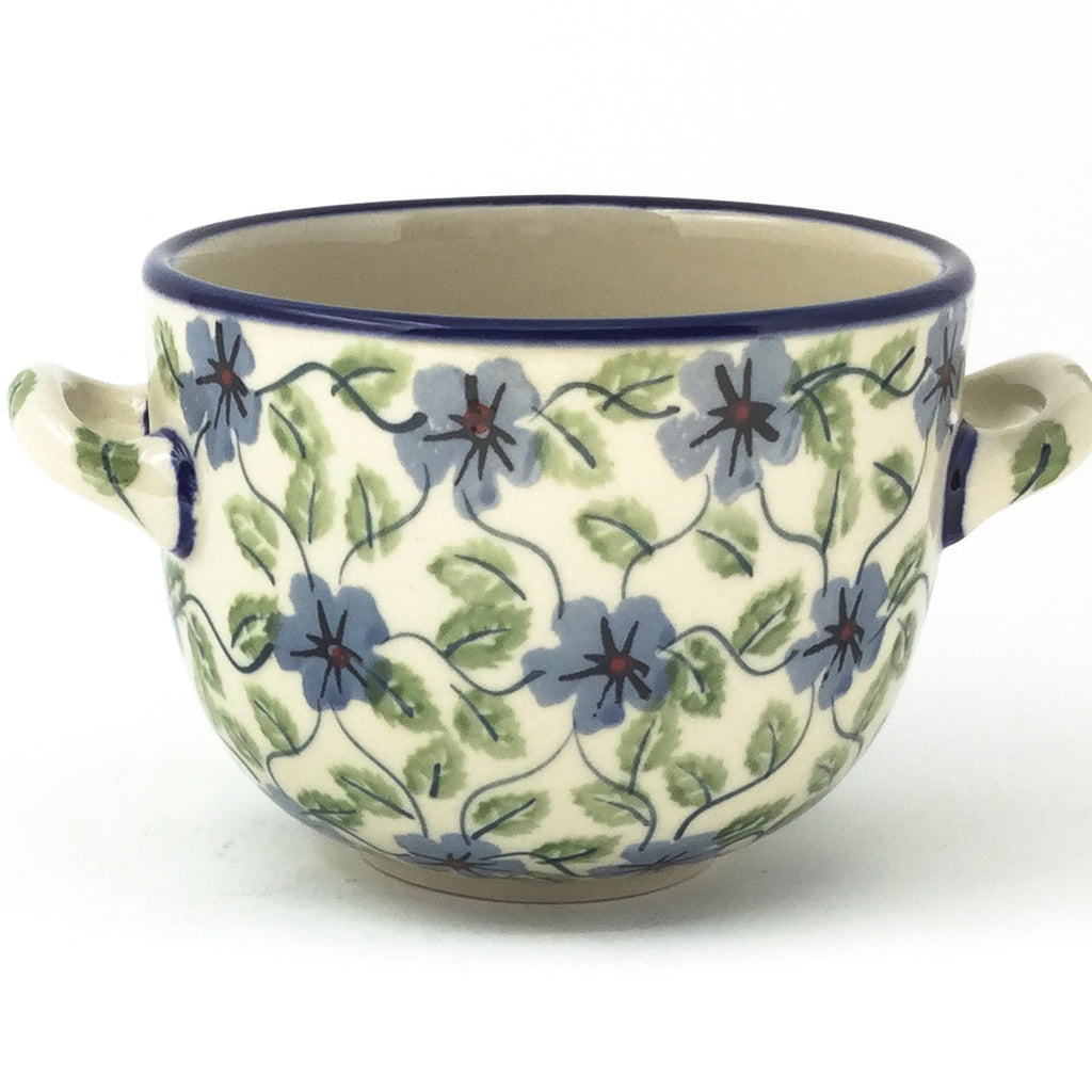 Bouillon Cup 16 oz in Blue Clematis