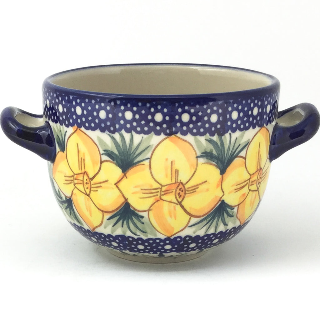 Bouillon Cup 16 oz in Daffodils
