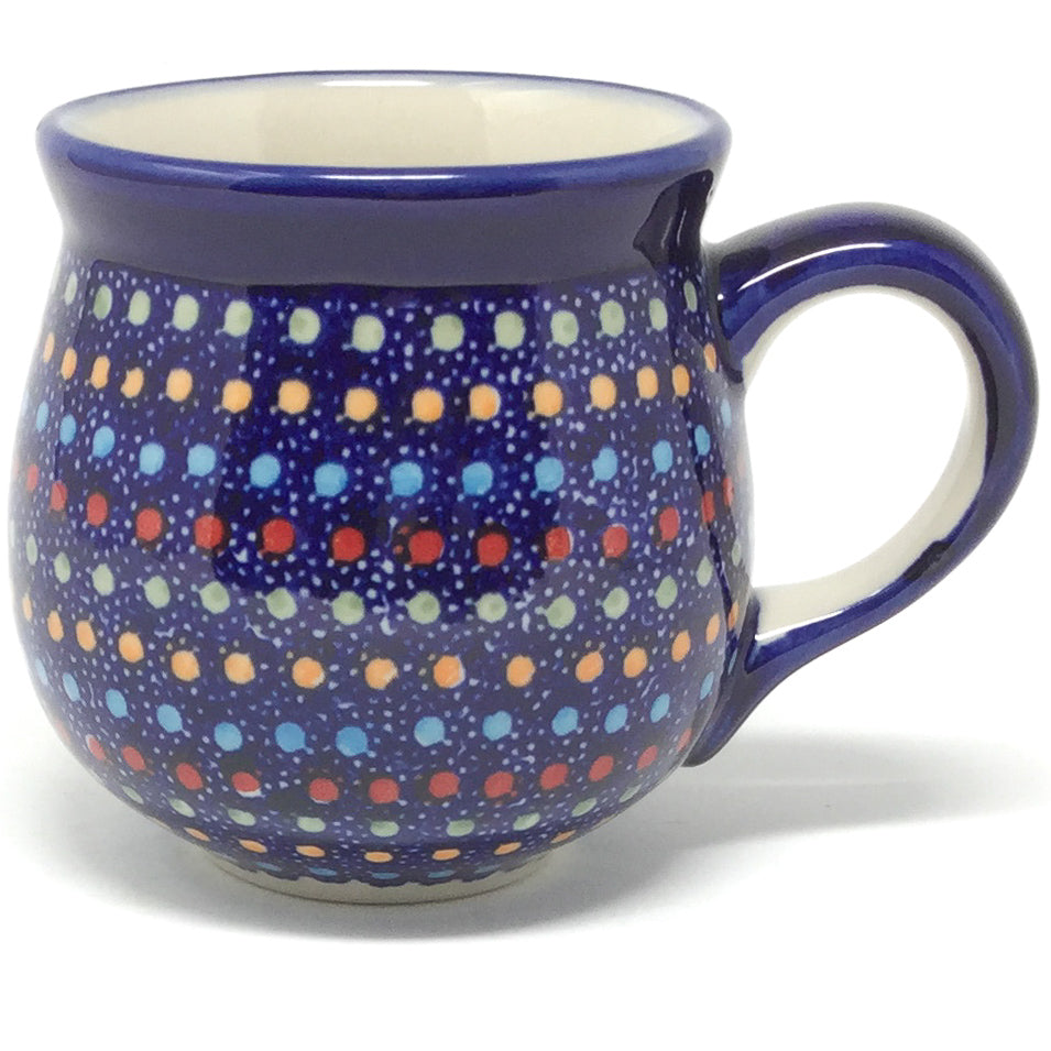 Lady's Cup 10.5 oz in Multi-Colored Dots