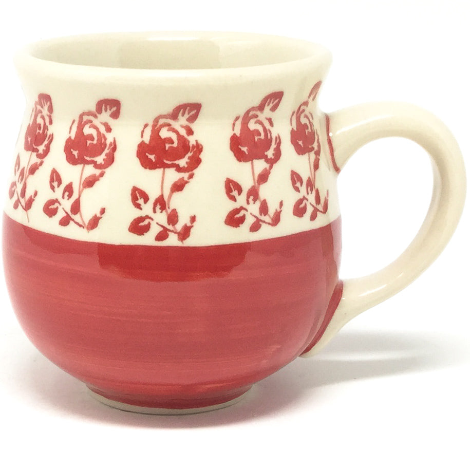 Lady's Cup 10.5 oz in Red Rose