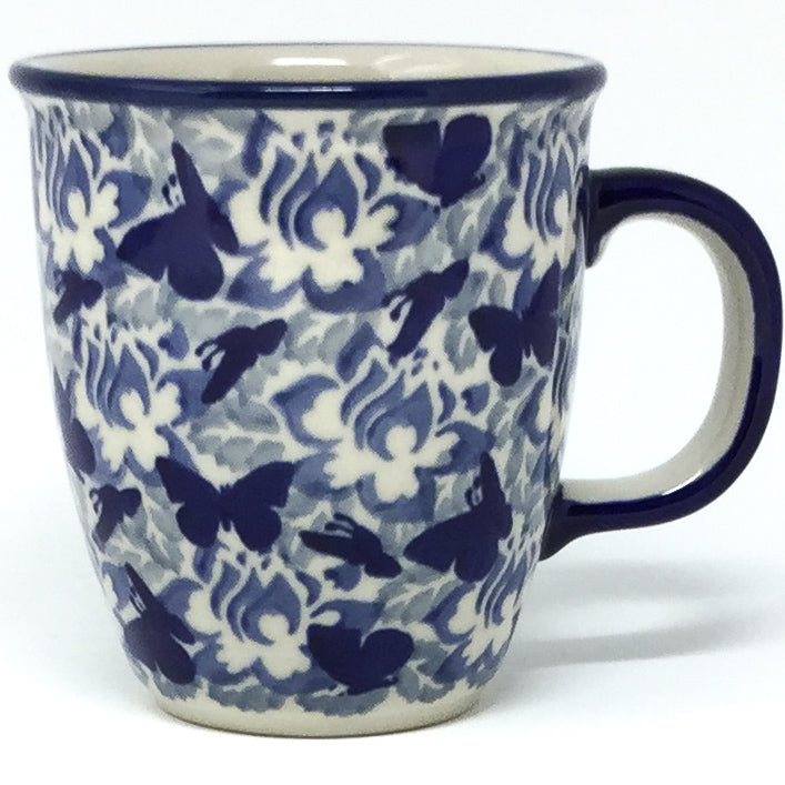 Bistro Cup 10.5 oz in Blue Butterfly