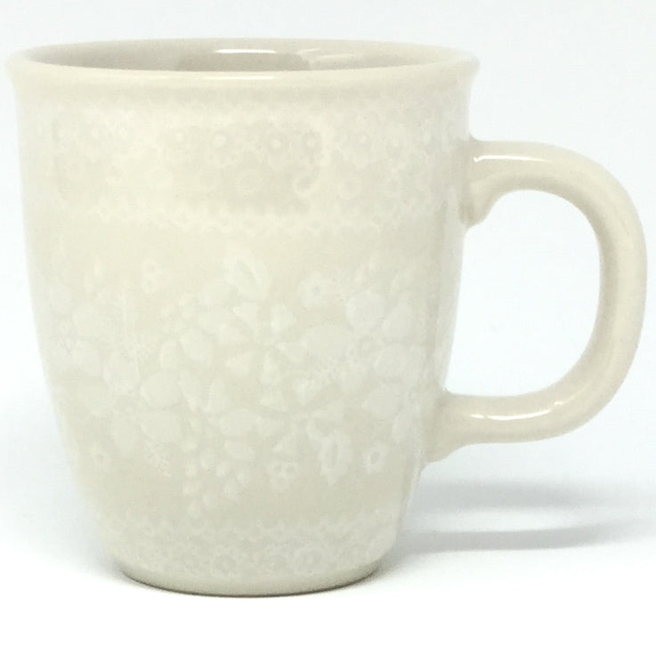 Bistro Cup 10.5 oz in White on White