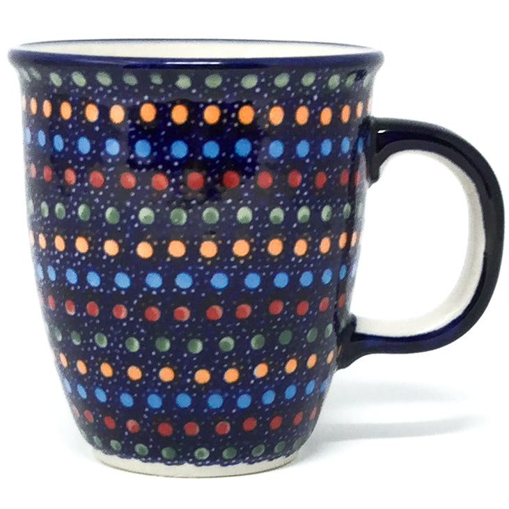 Bistro Cup 10.5 oz in Multi-Colored Dots