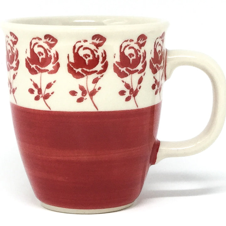 Bistro Cup 10.5 oz in Red Rose