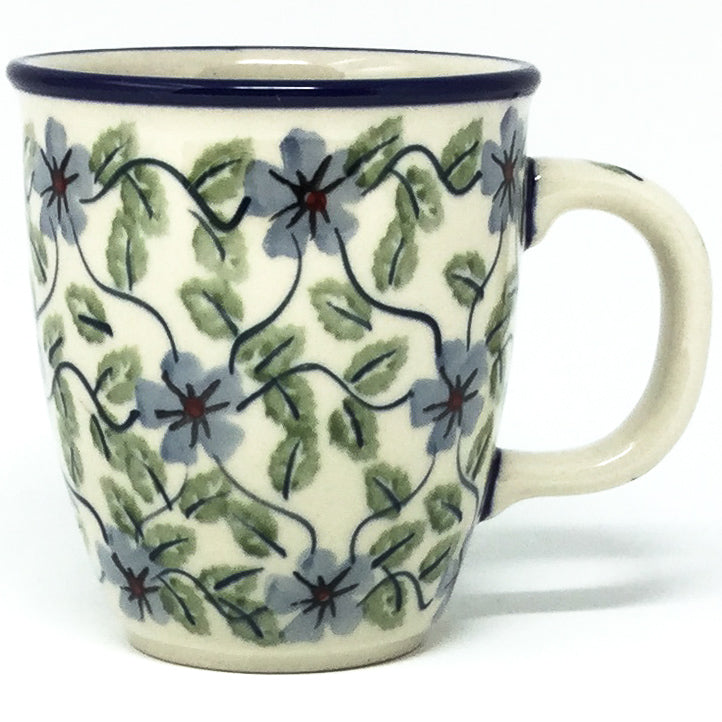 Bistro Cup 10.5 oz in Blue Clematis