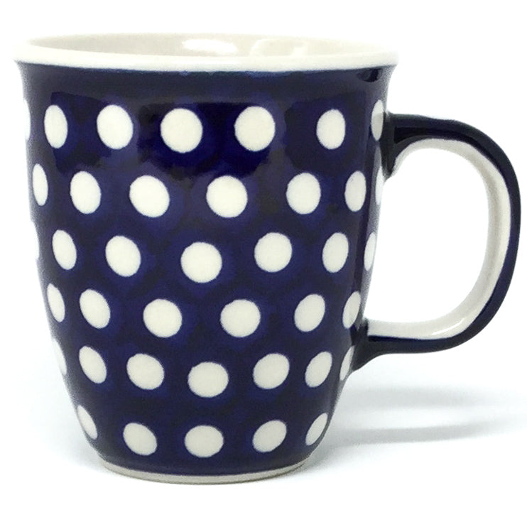 Bistro Cup 10.5 oz in White Polka-Dot
