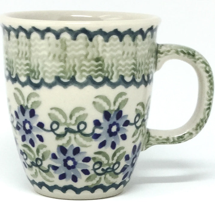 Bistro Cup 10.5 oz in Blue & Green Flowers