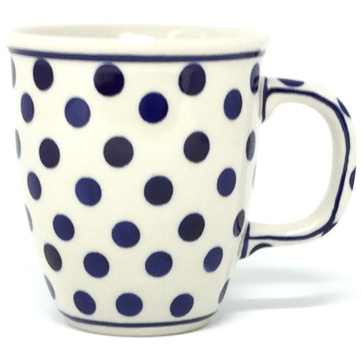 Bistro Cup 10.5 oz in Blue Polka-Dot