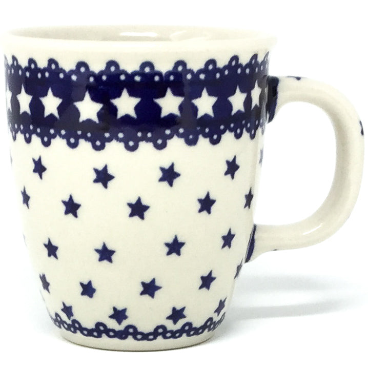 Bistro Cup 10.5 oz in Blue Stars