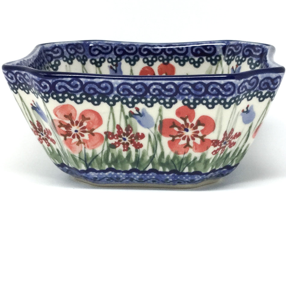 Square Soup Bowl 16 oz in Spring Meadow