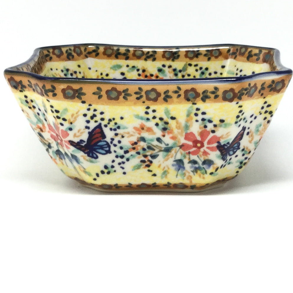 Square Soup Bowl 16 oz in Butterfly Meadow