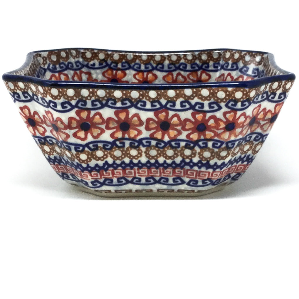 Square Soup Bowl 16 oz in Earth Tones