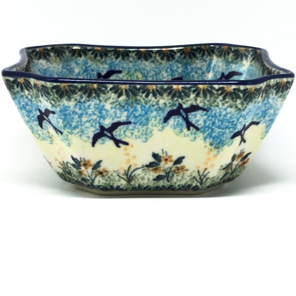 Square Soup Bowl 16 oz in Birds