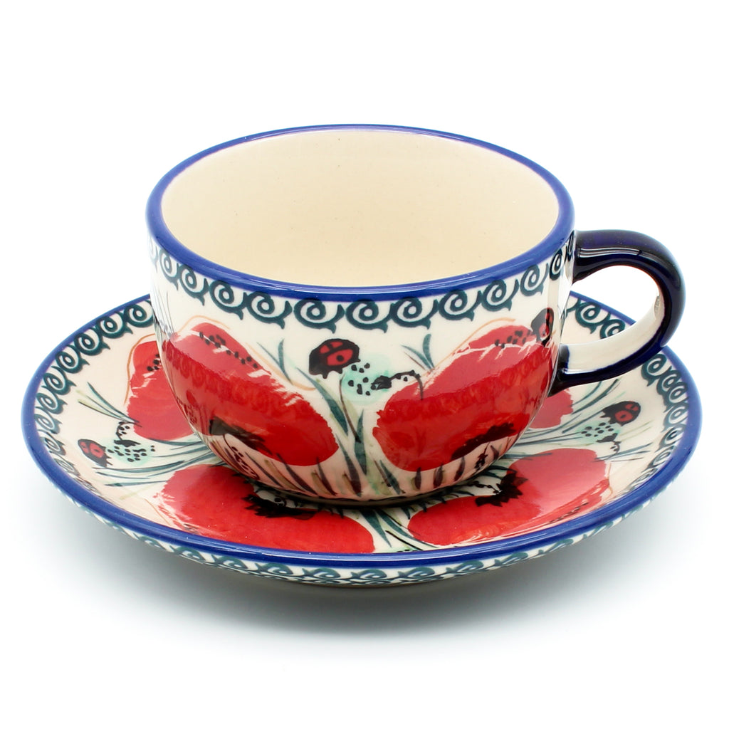 Square Soup Bowl 16 oz in Rose Garden