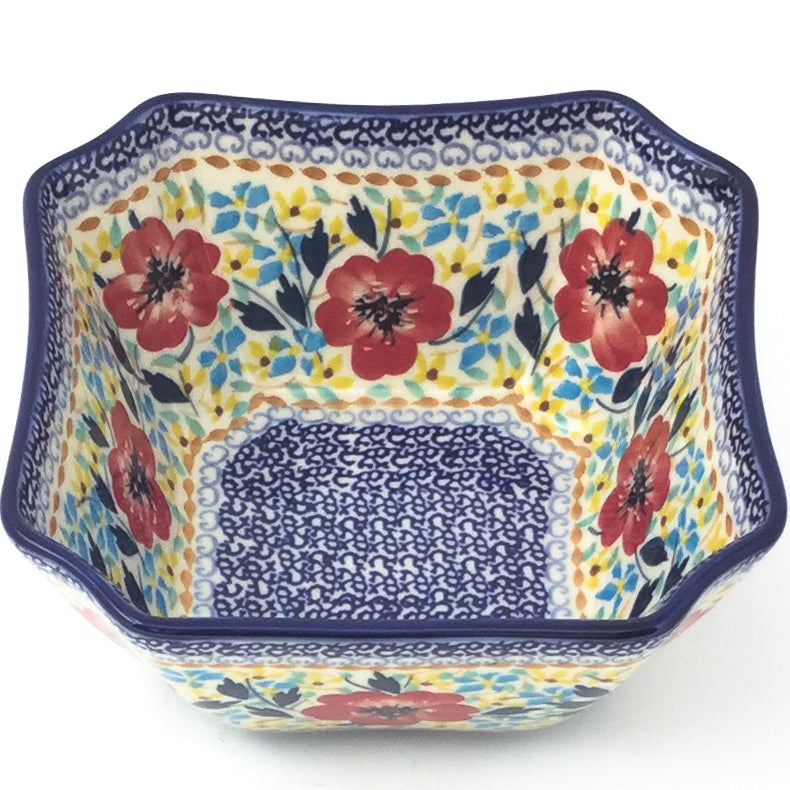 Square Soup Bowl 16 oz in Sophie's Garden