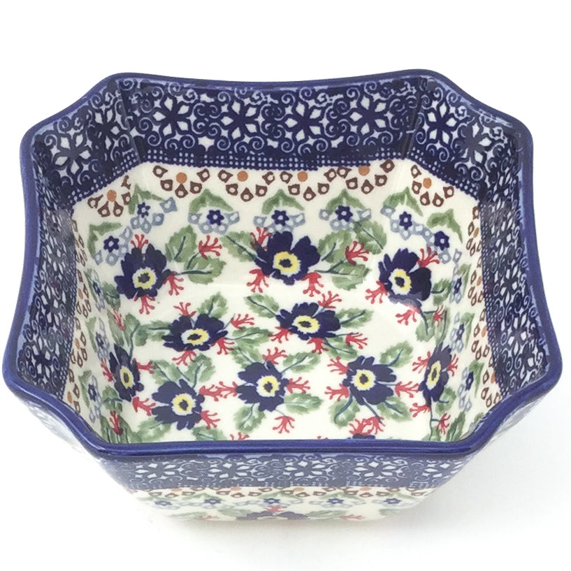 Square Soup Bowl 16 oz in Forget-Me-Not
