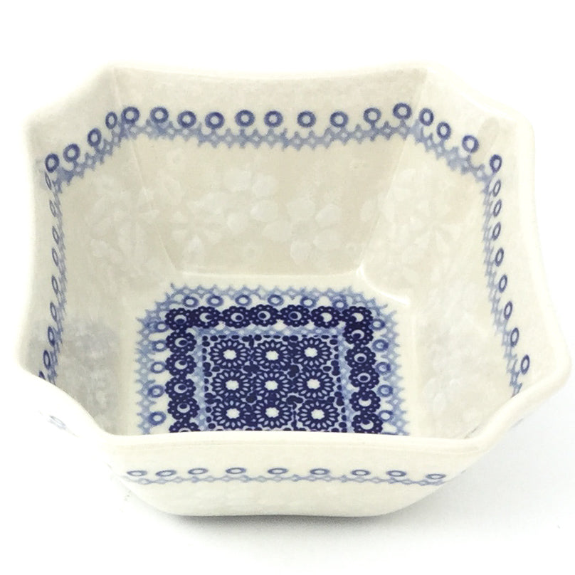 Square Soup Bowl 16 oz in Delicate Blue