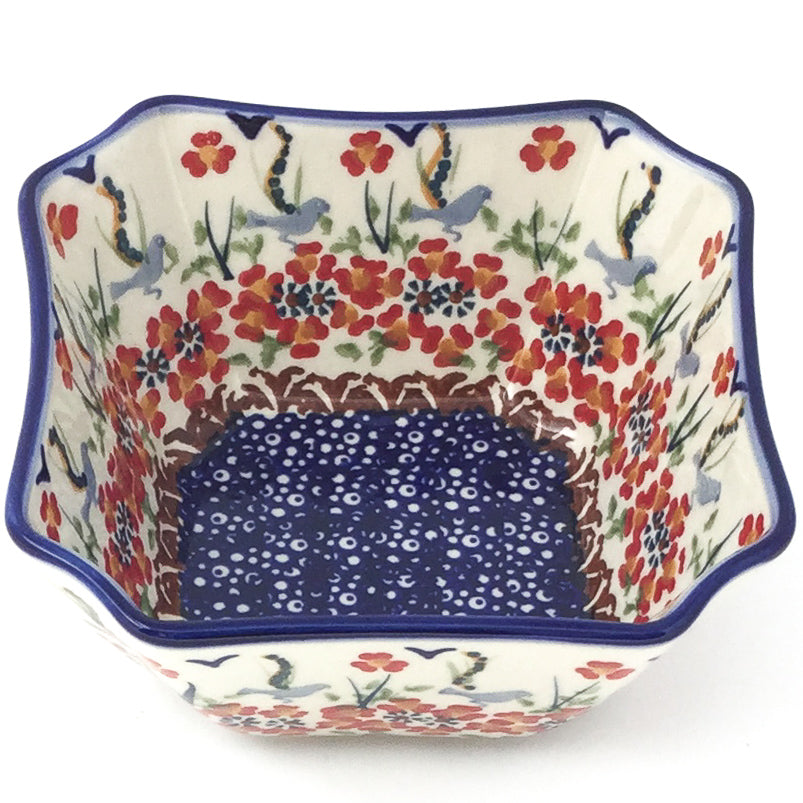 Square Soup Bowl 16 oz in Simply Beautiful