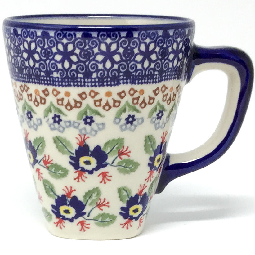 Square Cup 8 oz in Forget-Me-Not