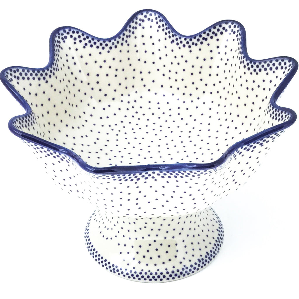Pedestal Berry Bowl in Simple Elegance