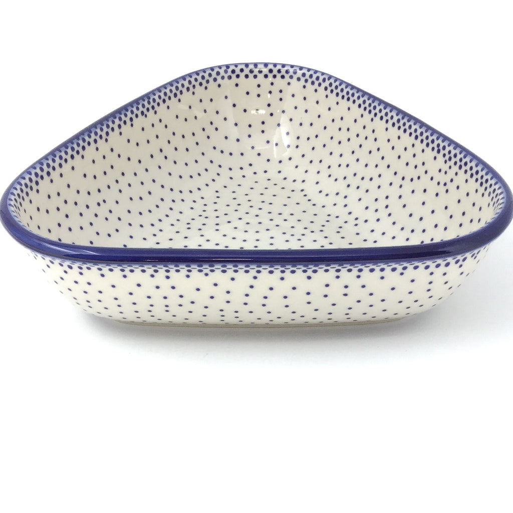 "Triangular Bowl 8"" in Simple Elegance"