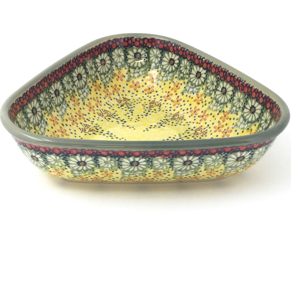 "Triangular Bowl 8"" in Cottage Decor"