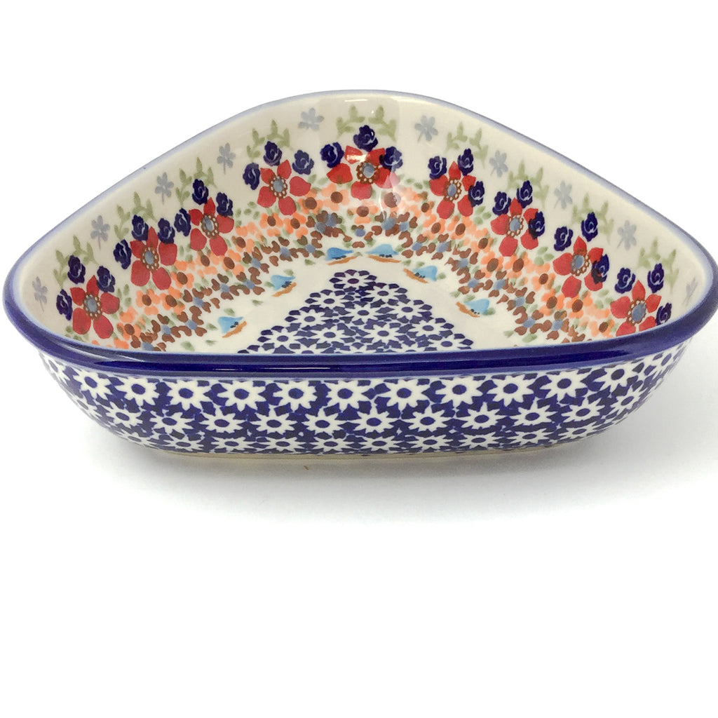 "Triangular Bowl 8"" in Summer"