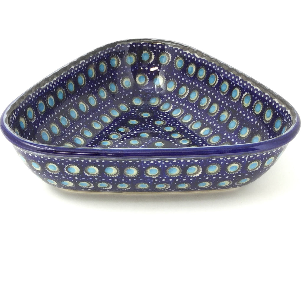 "Triangular Bowl 8"" in Blue Moon"