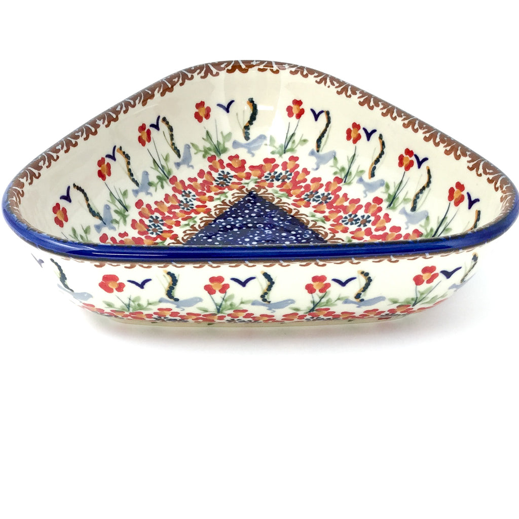 "Triangular Bowl 8"" in Simply Beautiful"