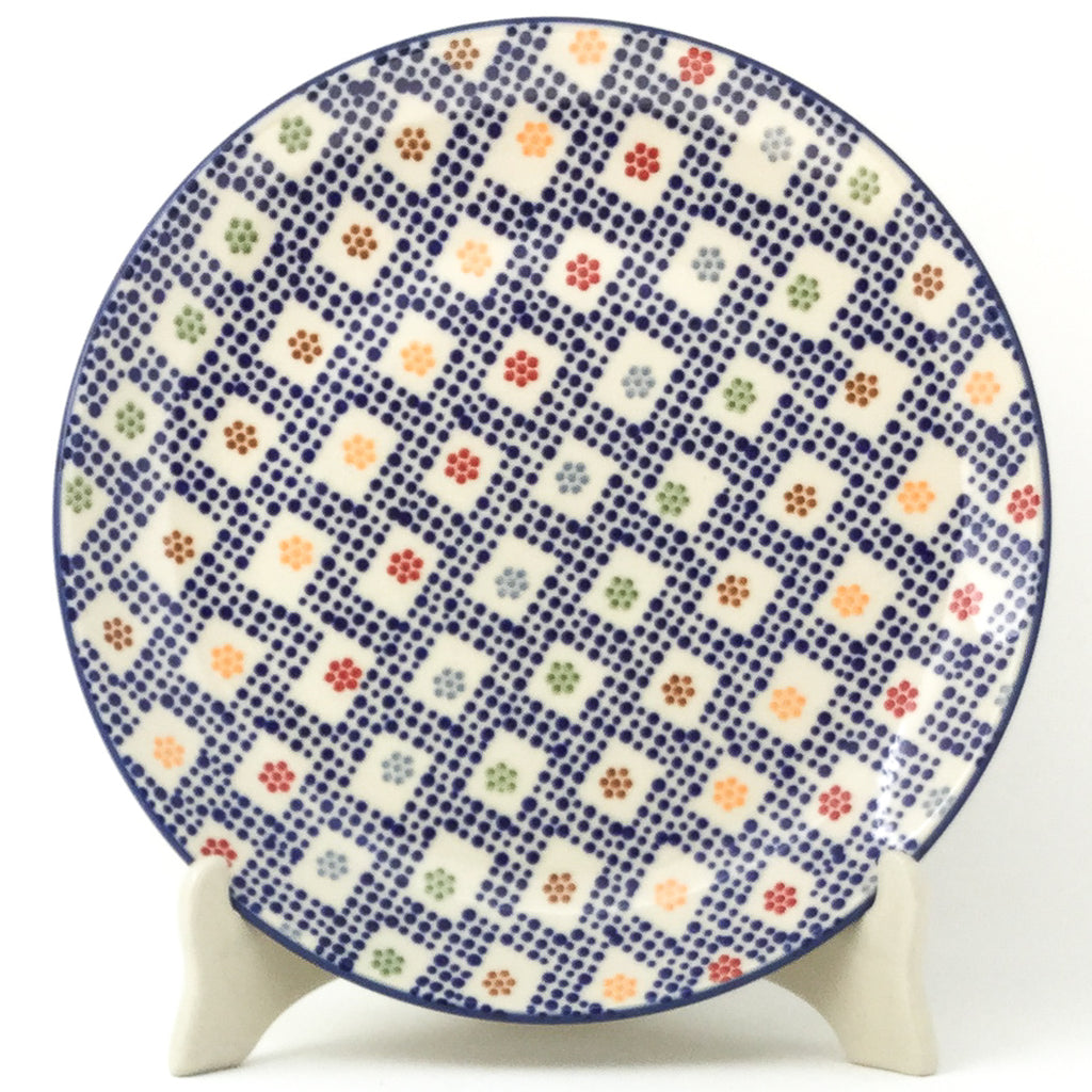 "Dinner Plate 10"" in Modern Checkers"