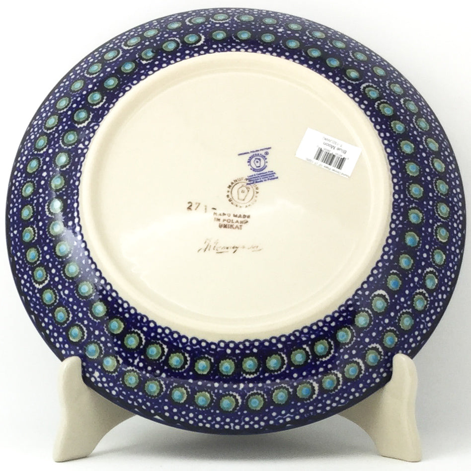 "Dinner Plate 10"" in Blue Moon"