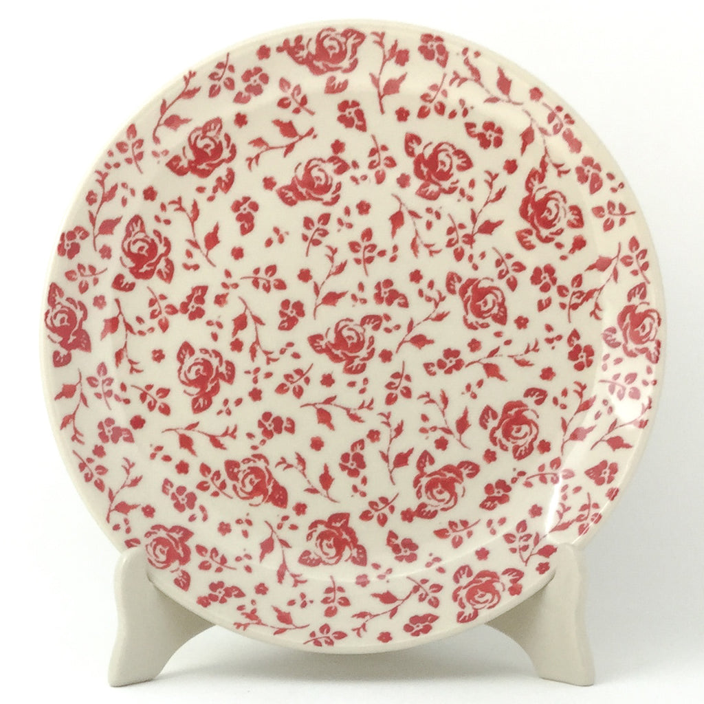 "Dinner Plate 10"" in Antique Red"