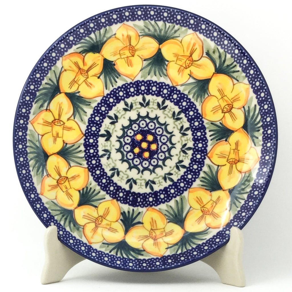 "Dinner Plate 10"" in Daffodils"