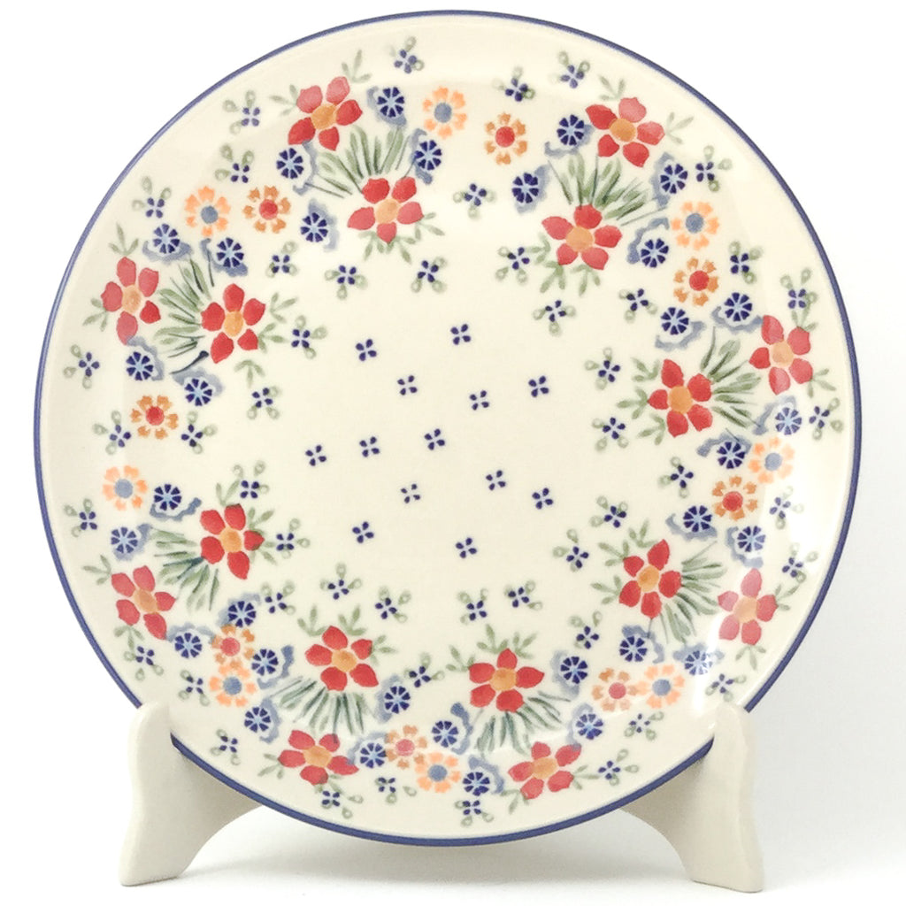 "Dinner Plate 10"" in Delicate Flowers"