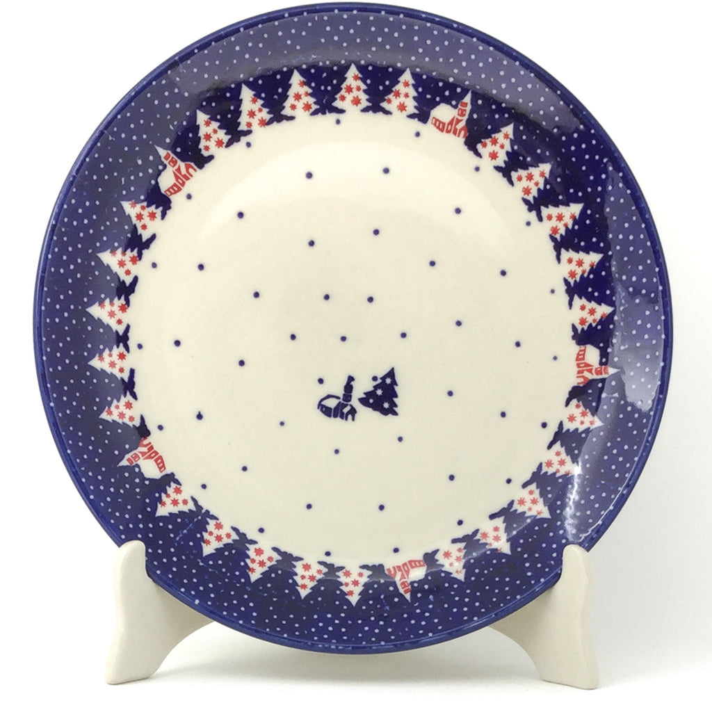 "Round Dinner Plate 10"" in Winter Village"