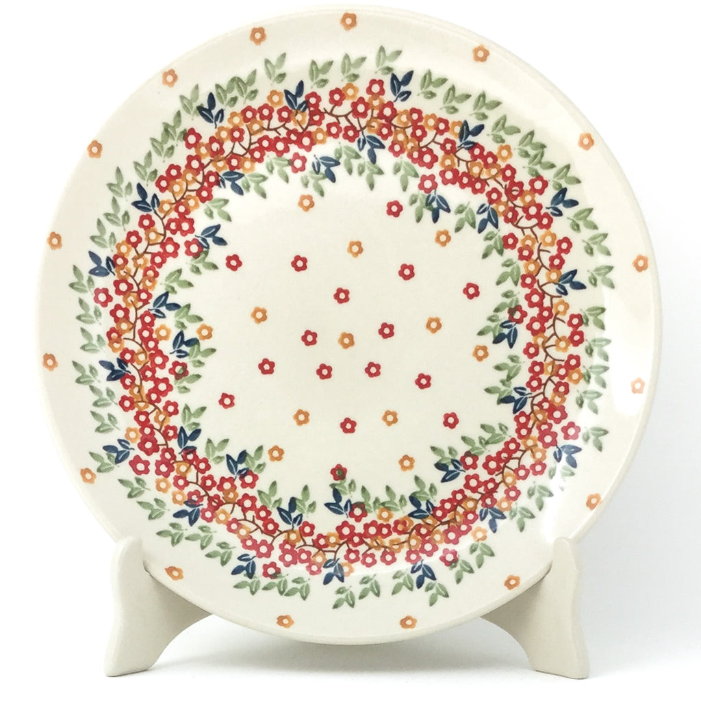 "Dinner Plate 10"" in Tiny Flowers"