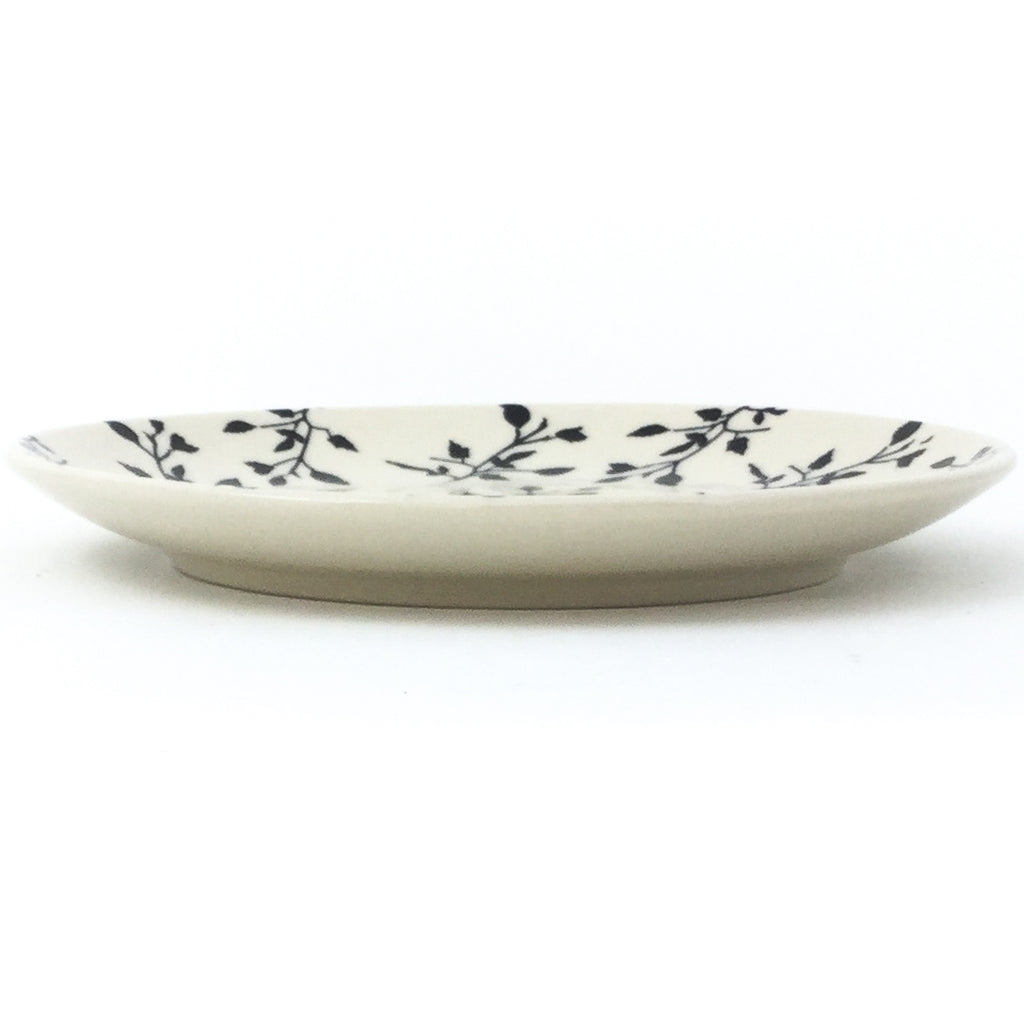 Luncheon Plate in Simply Black