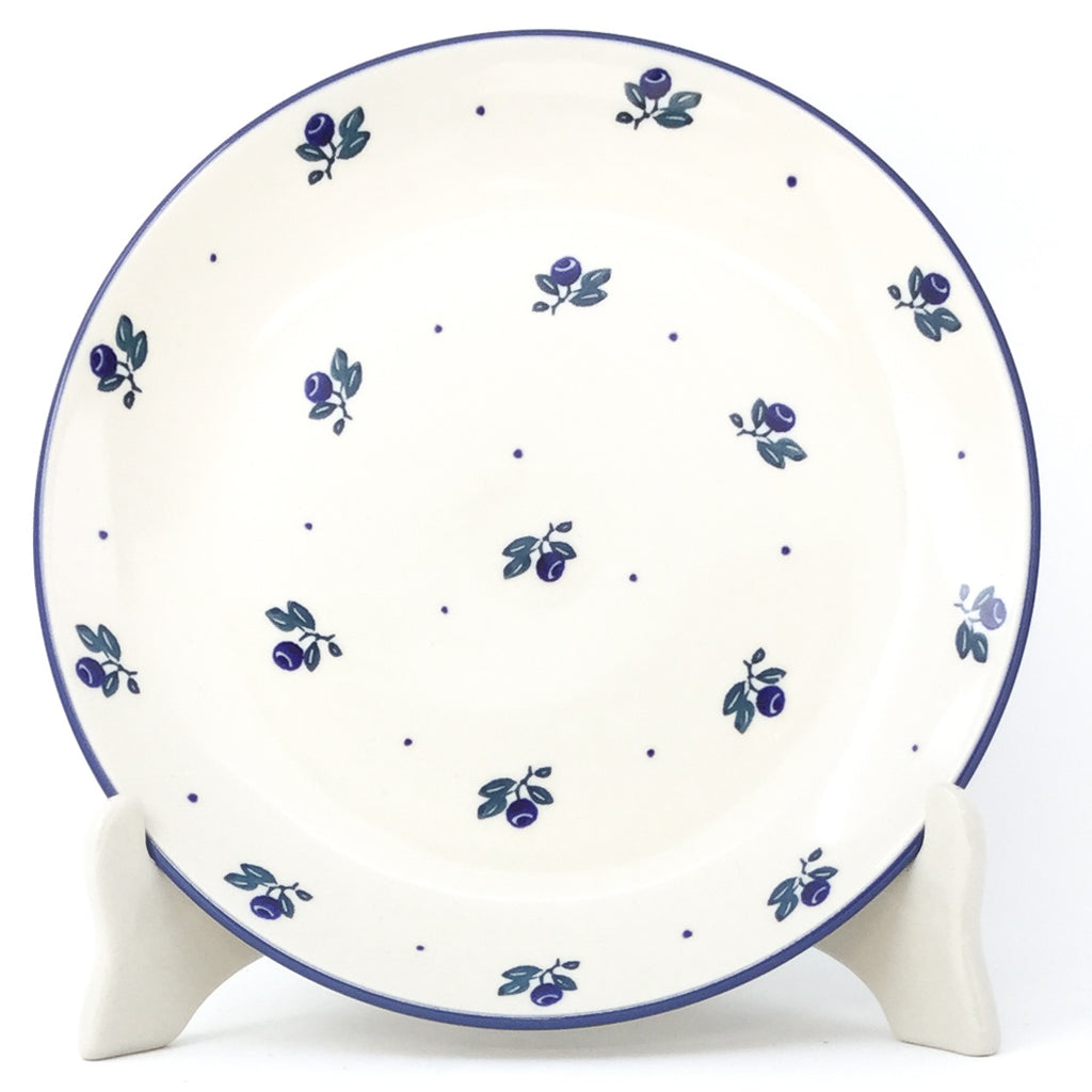 Luncheon Plate in Blueberry