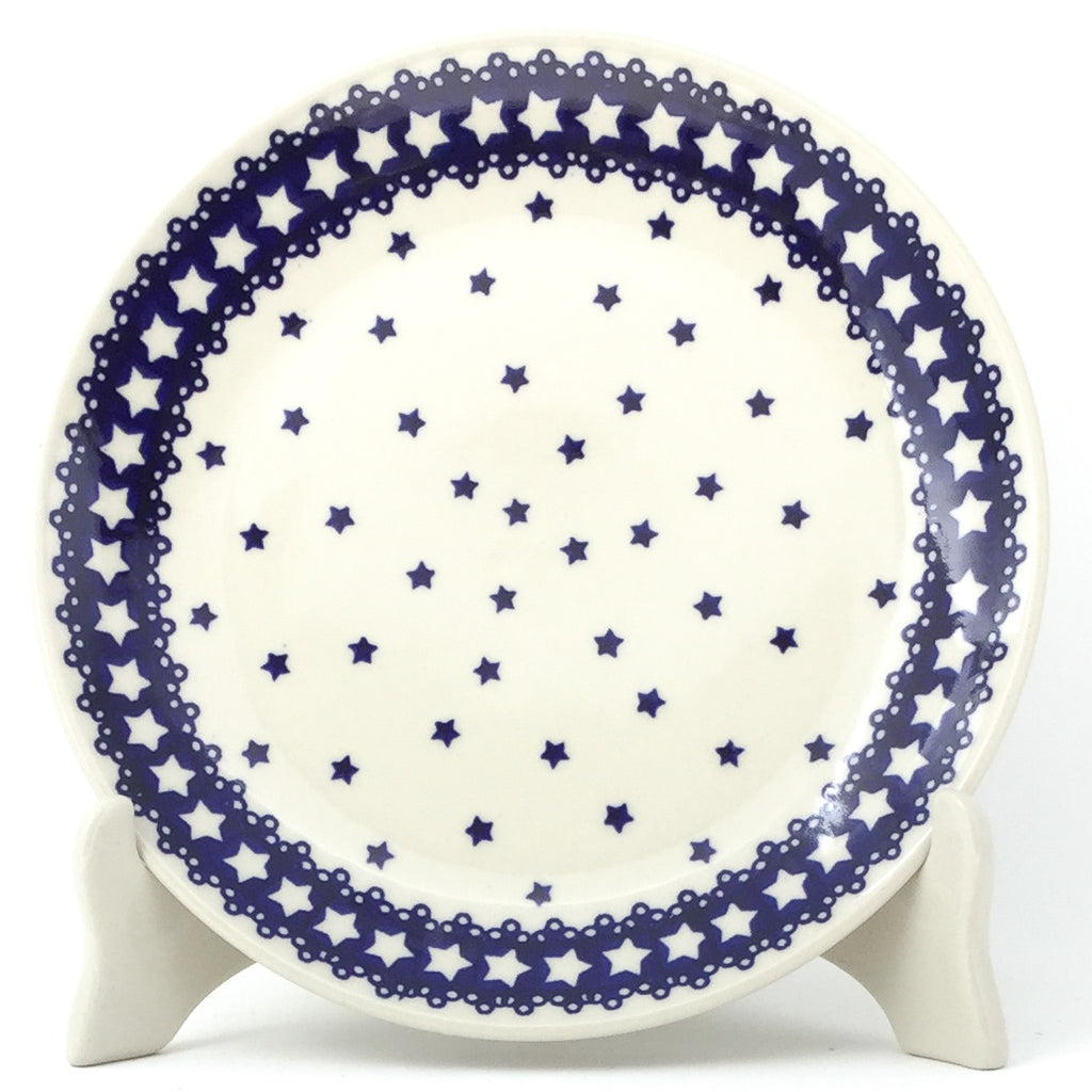 Luncheon Plate in Blue Stars