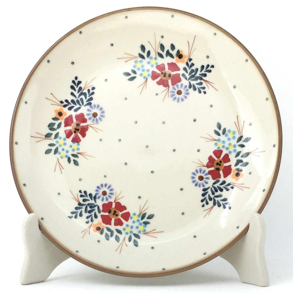 Luncheon Plate in Brown Edge