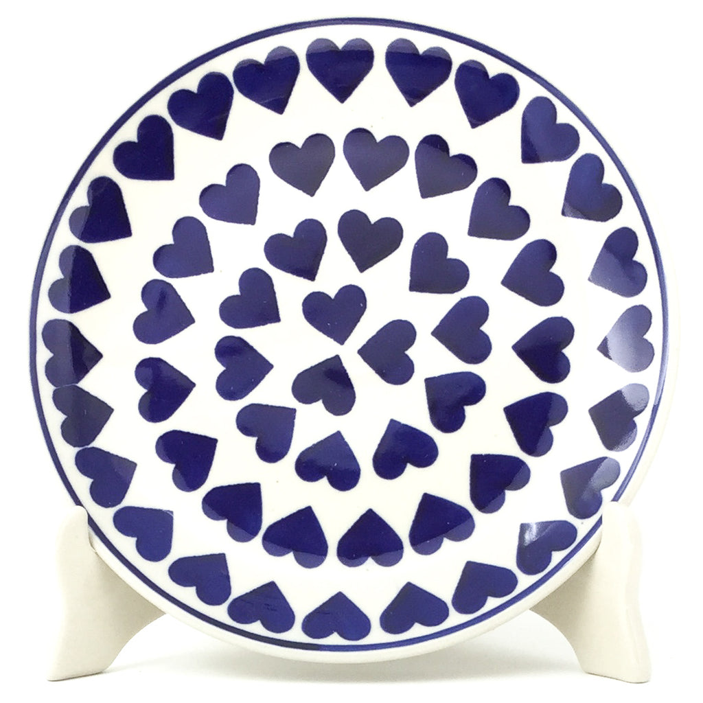 Luncheon Plate in Large Hearts