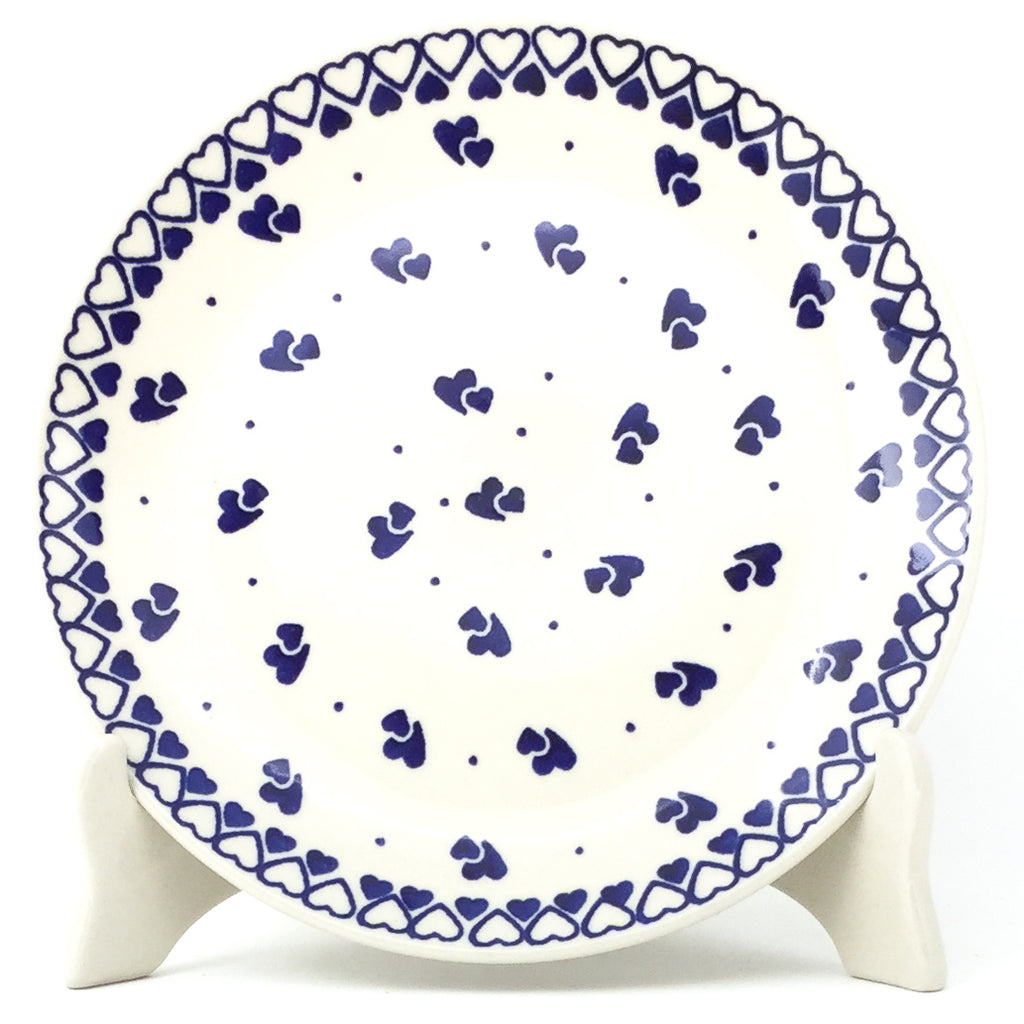 Luncheon Plate in Double Hearts