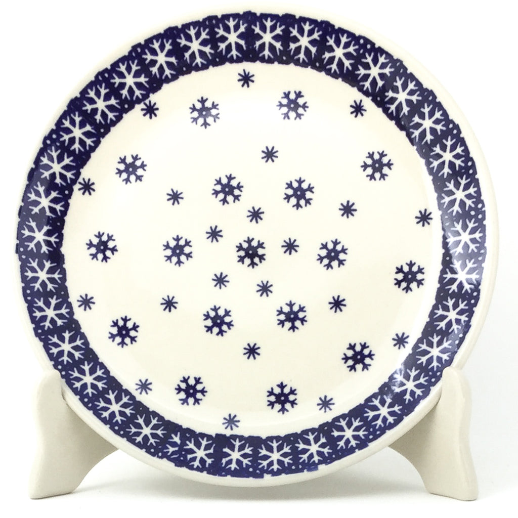 Luncheon Plate in Snowflake