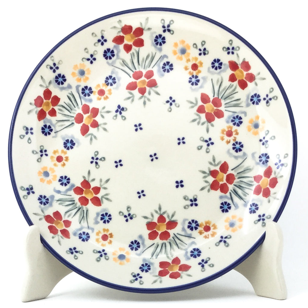 Luncheon Plate in Delicate Flowers