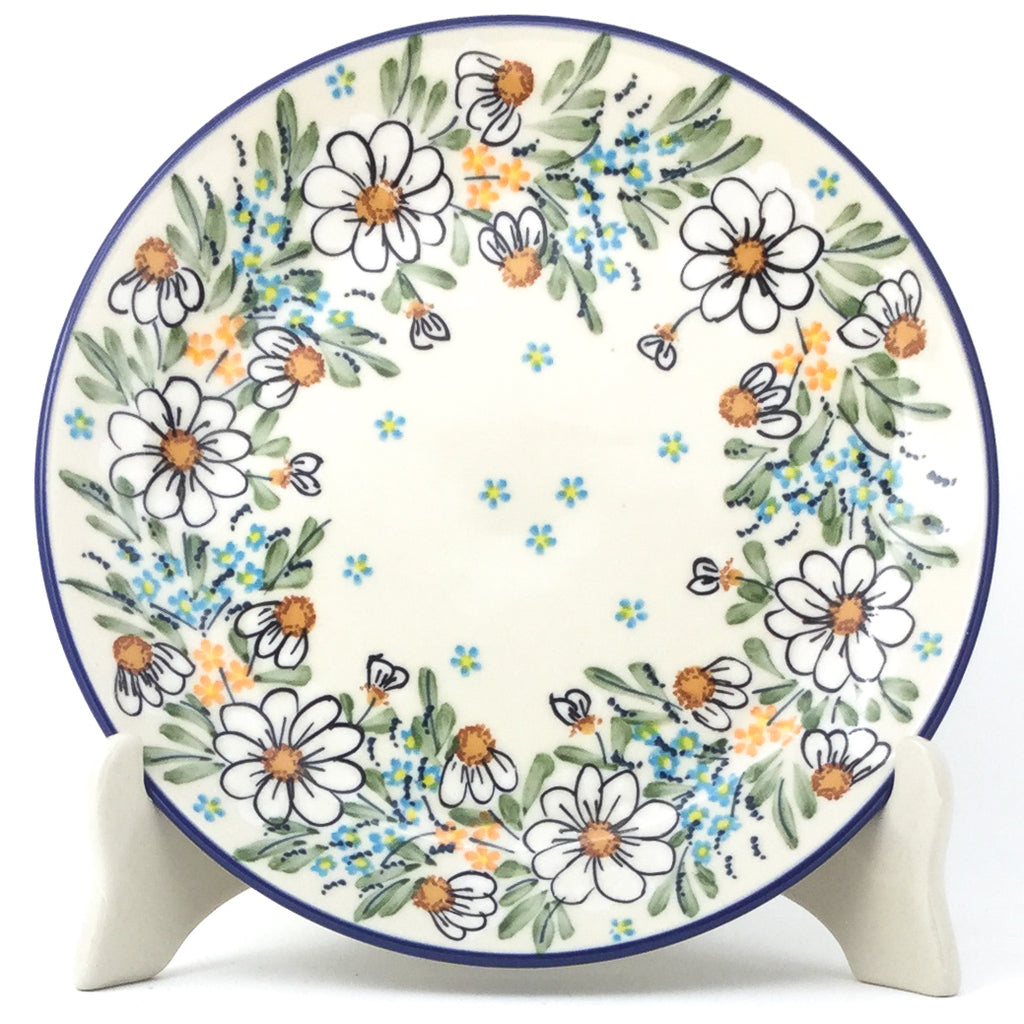 Luncheon Plate in Spectacular Daisy